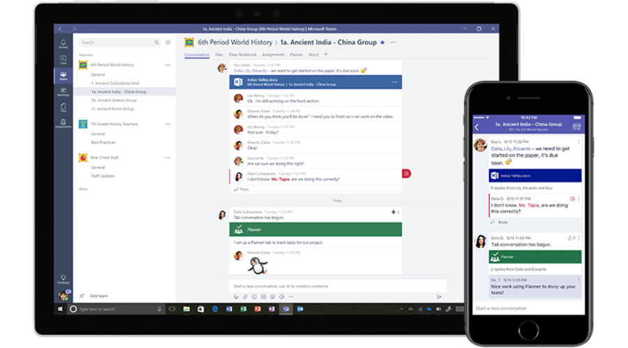 Microsoft Teams and Office 365 E1 trial for 6 months